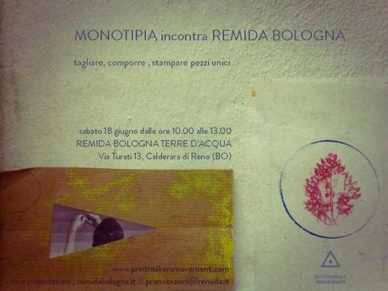 monotipia remida