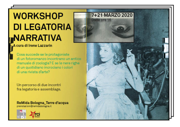 Volantino workshop Remida_Irene Lazzarin